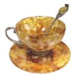 Посуда из янтаря – здоровая роскошь