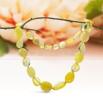 Ожерелье из натурального лимонного балтийского янтаря