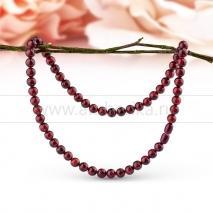Ожерелье из вишневого балтийского природного янтаря