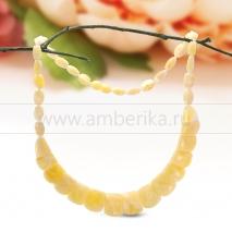 Ожерелье из балтийского лимонного природного янтаря