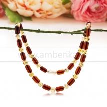 "Ожерелье из балтийского природного янтаря ""микс"""