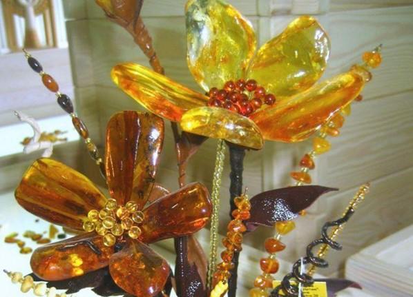 изделия из янтаря, созданного своими руками